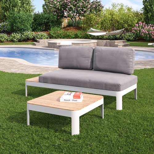 Cavalla 2 PC Lounger Set Outdoor Seating Southern Enterprises