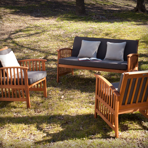 Catania Outdoor Seating 3 PC Set Southern Enterprises
