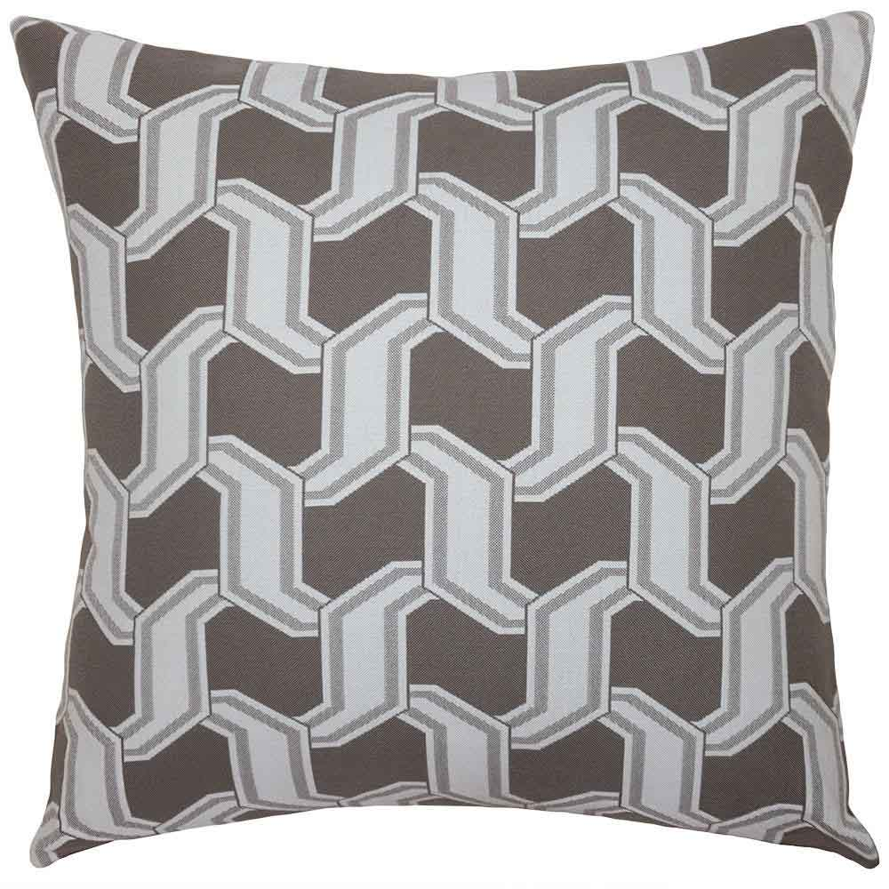 Chain Stone Outdoor Pillow Squarefeathers