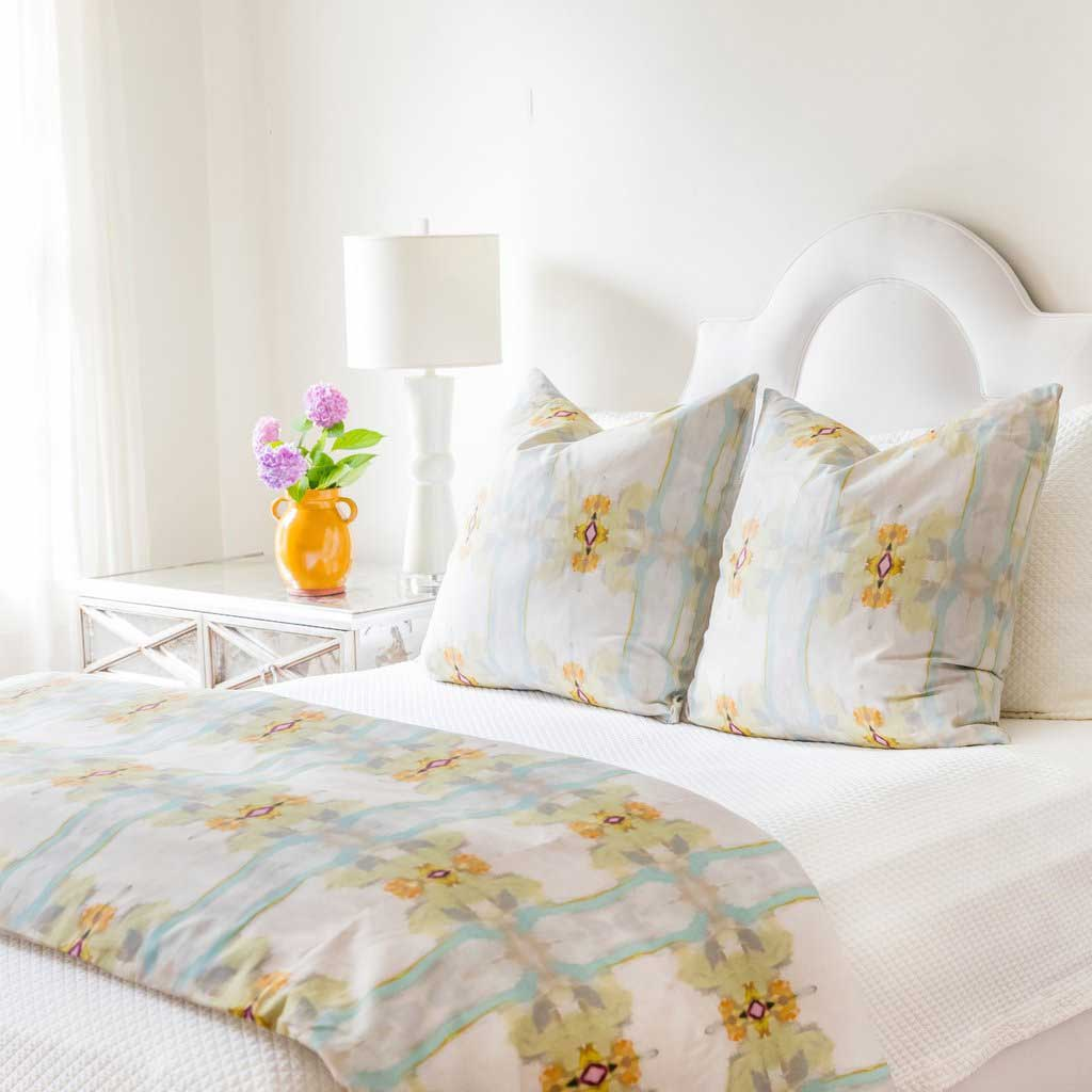 Sundance White Duvet Cover Laura Park Designs