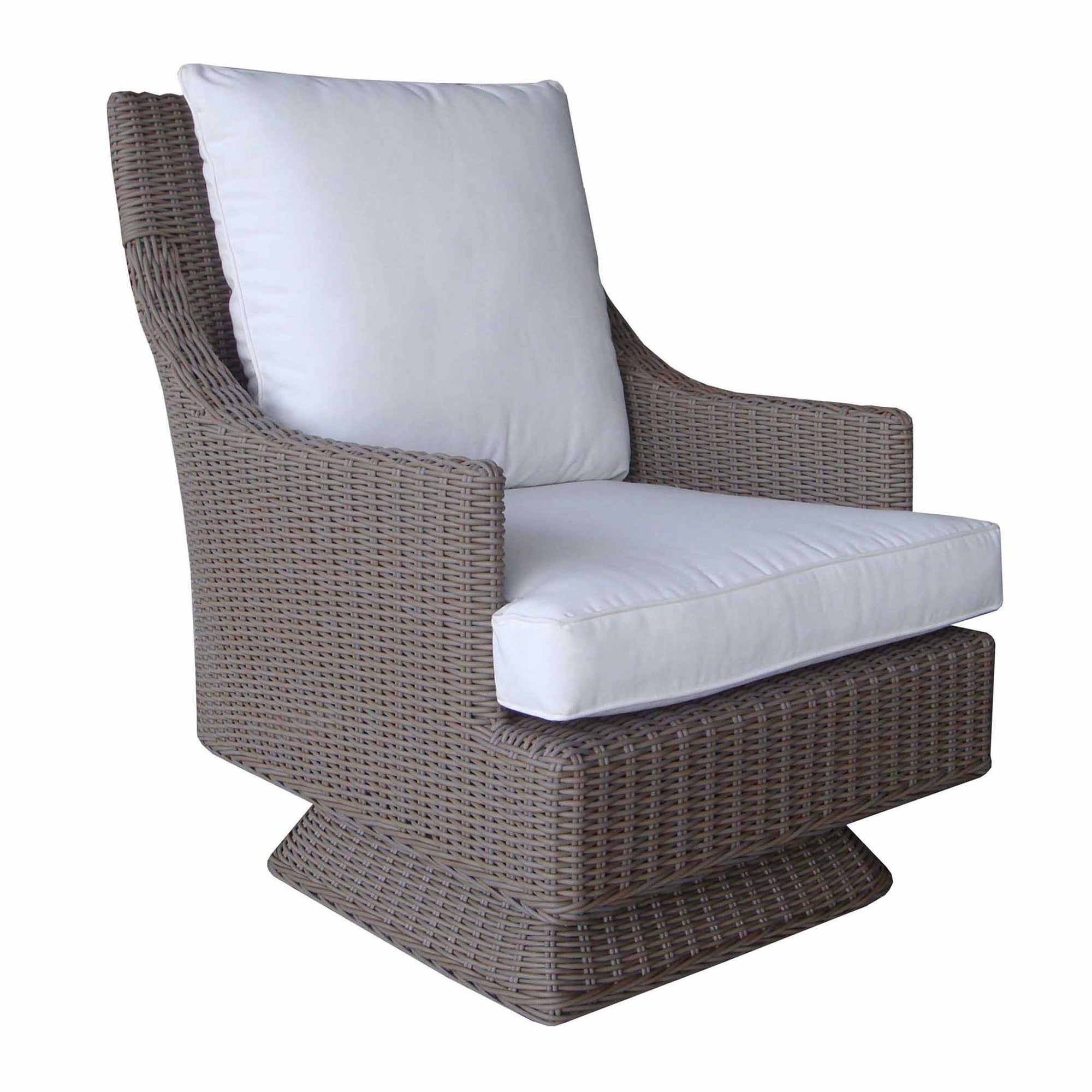 Cayman Islands Outdoor Rocking Swivel Chair Padma's Plantation