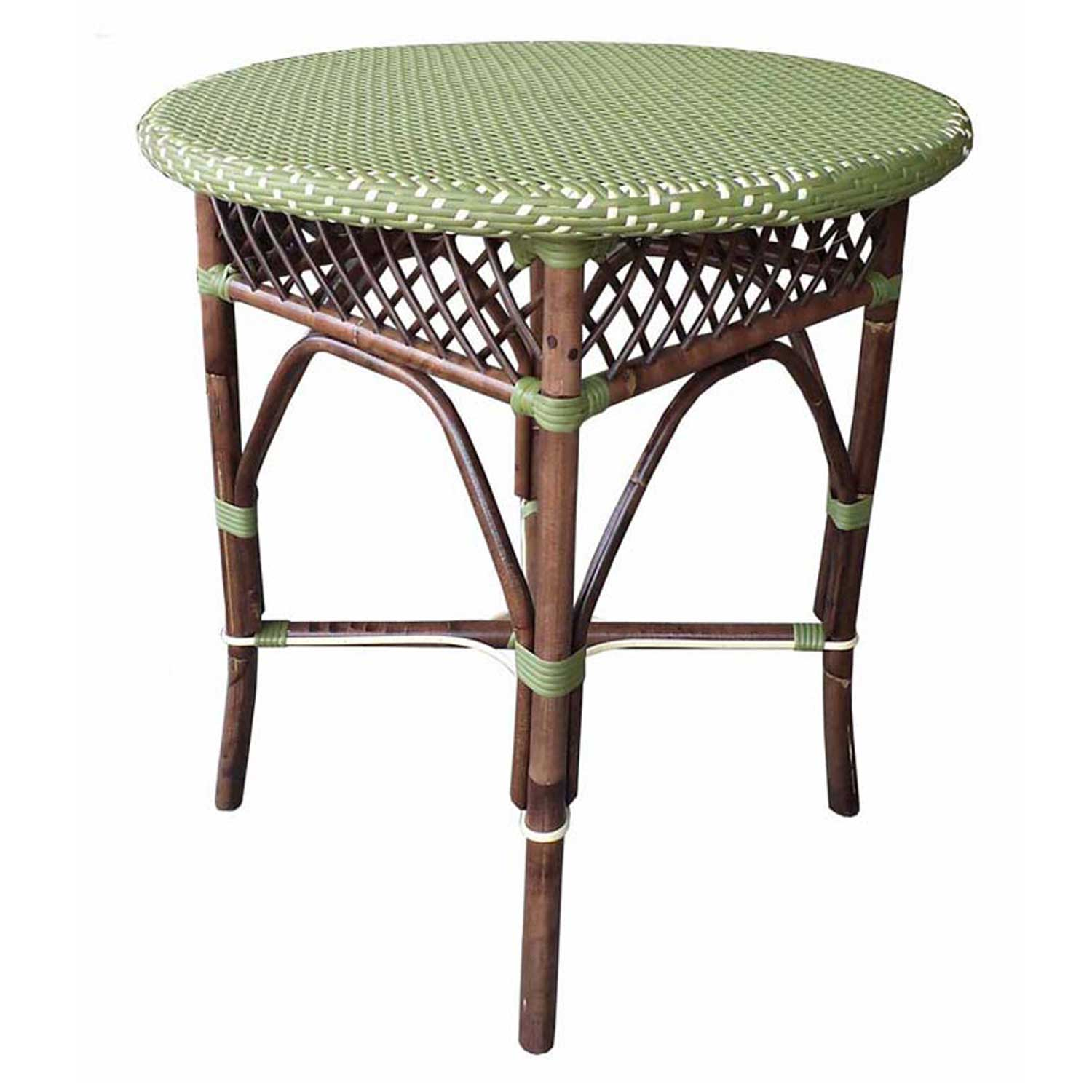Paris Bistro Dining Table Padma's Plantation Green