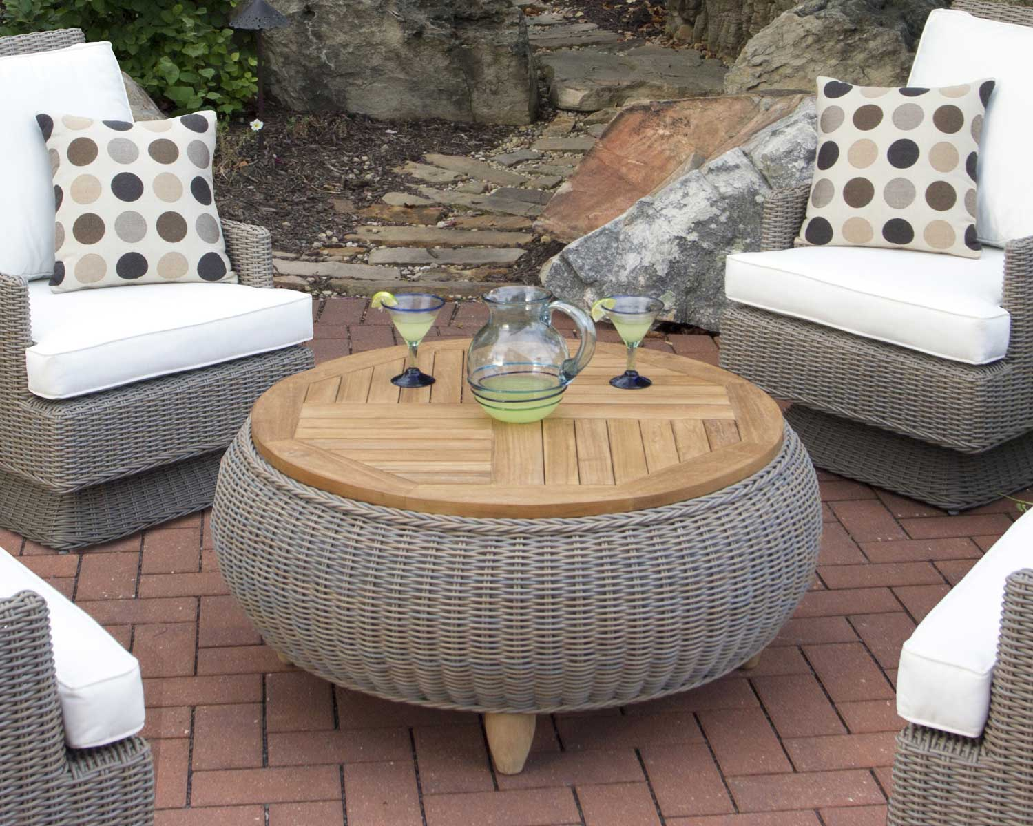 Paradise Ottoman / Coffee Table Padma's Plantation Lifestyle Image 1