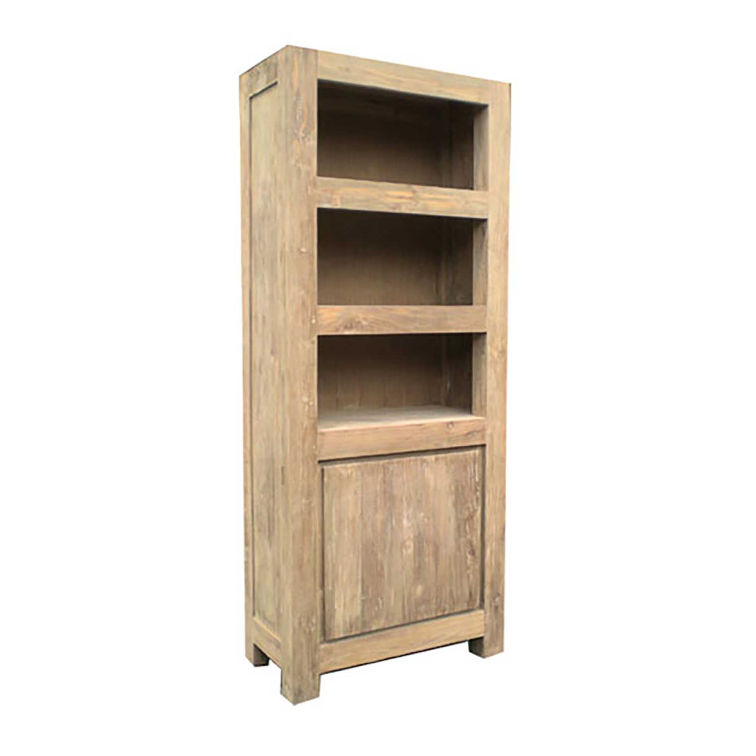 Stockholm Reclaimed Teak Bookcase Padma's Plantation