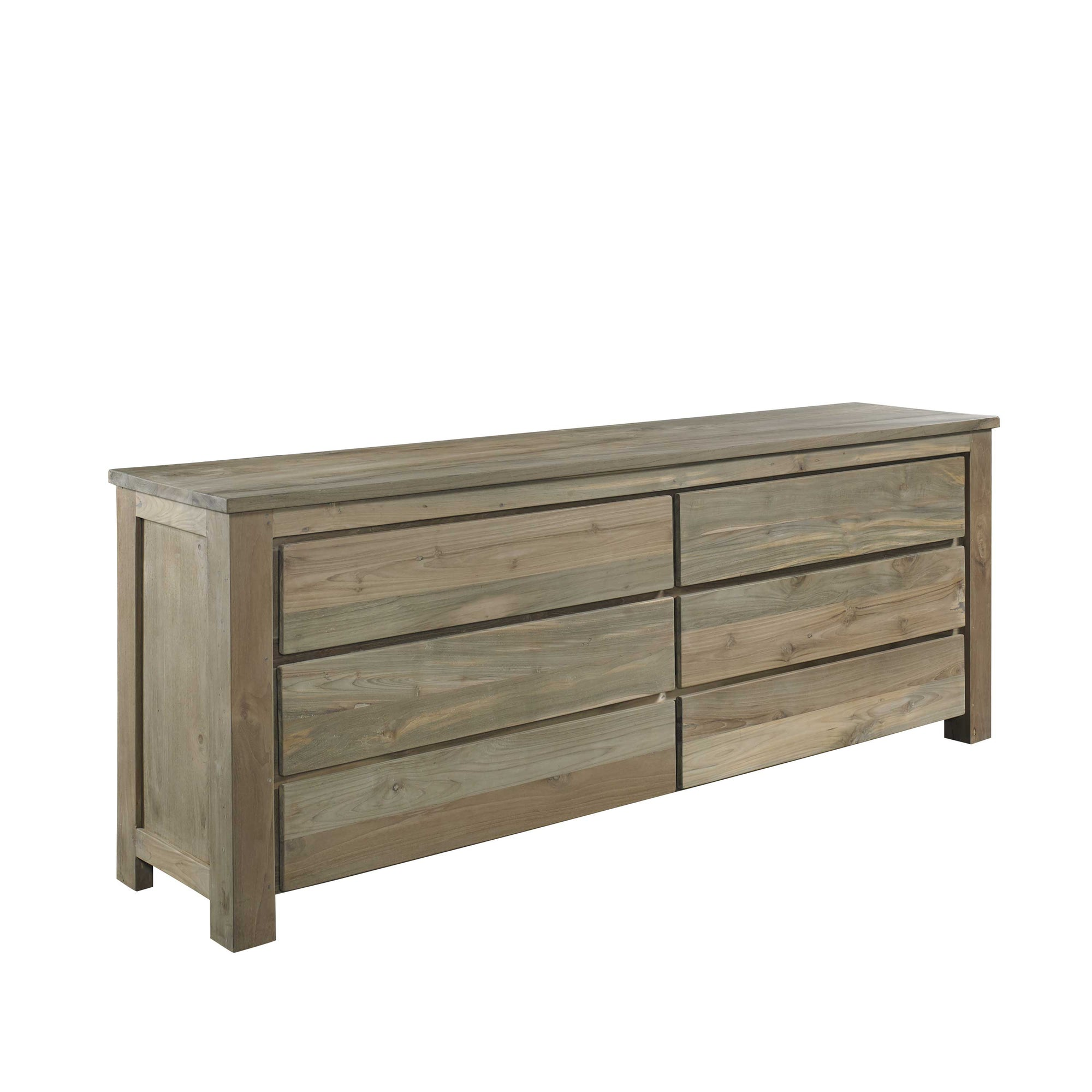 Stockholm Reclaimed Teak Chest of Drawers Padma's Plantation