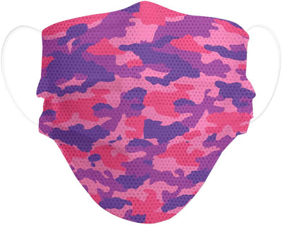 Pink Camo kid's protective face mask product image