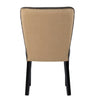 Padmas Plantation Rest Beach Eco Leather Dining Chair Back