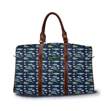 DayTripper in Atlantic Dark Blue from Ringneck & Lure weekender bag