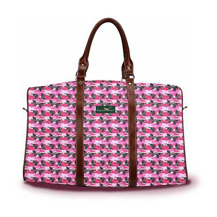 Camo Duck pink DayTripper tote from Ringneck & Lure weekender bag