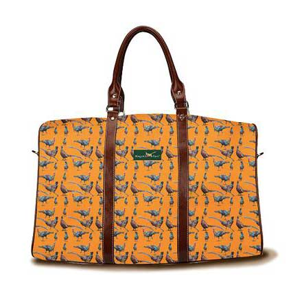 Gamebirds DayTripper weekender bag in Hunter Orange from Ringneck & Lure