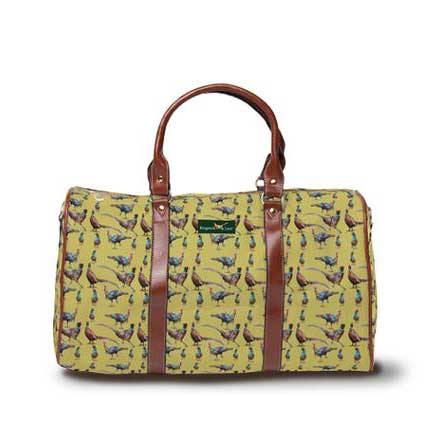 Gamebirds DayTripper weekender bag in Light Olive from Ringneck & Lure