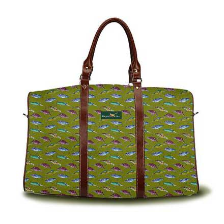 Lake Lures DayTripper weekender bag in Dark Olive from Ringneck & Lure