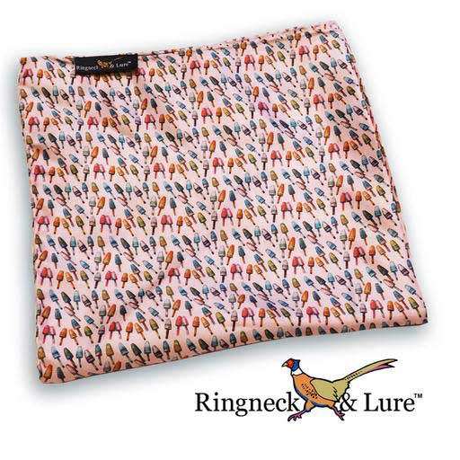 Buoys ice pink colored pocket square from Ringneck & Lure