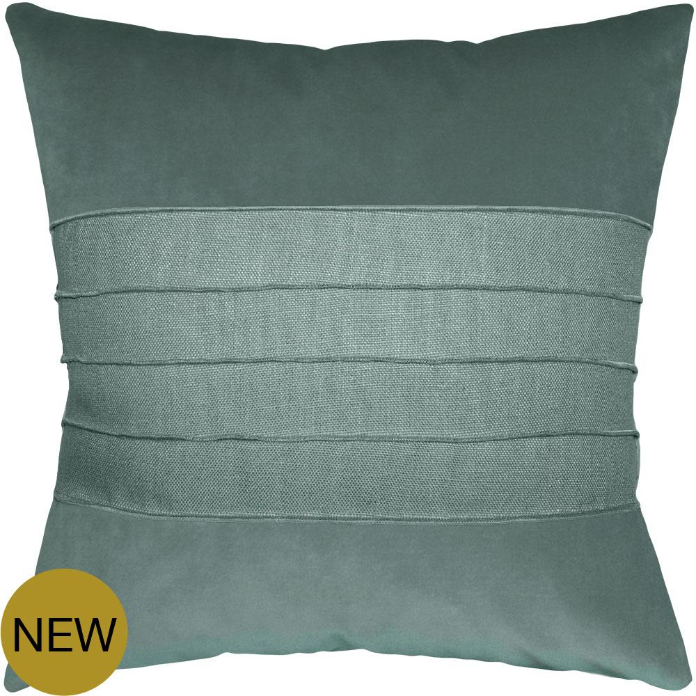 Reese Ocean Stone pillow from Square Feathers