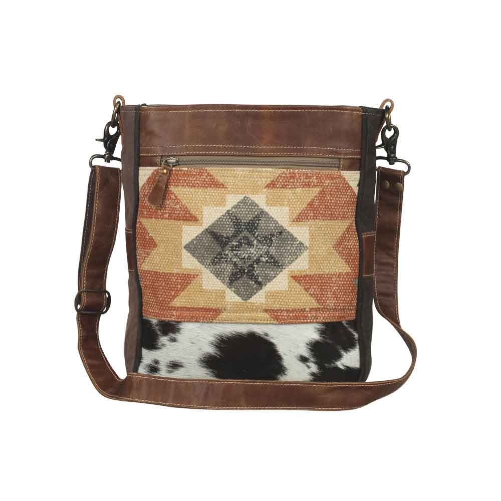 Enchanting Shoulder Bag Front View Myra Bag Harley Butler Trading Company