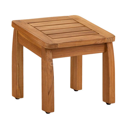 Brooke Shower Stool Teak Additional Main View