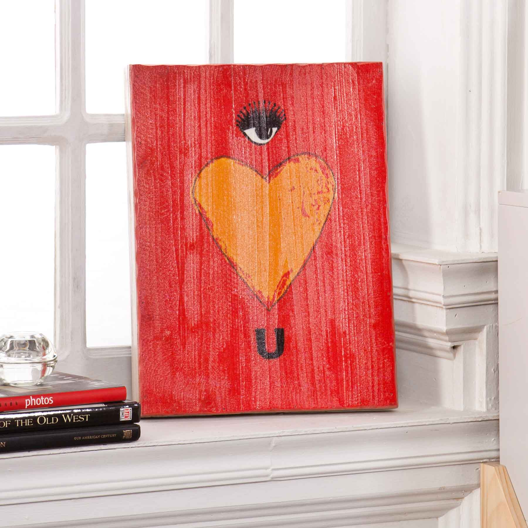 Swoon Wall Panel - Eye Heart U