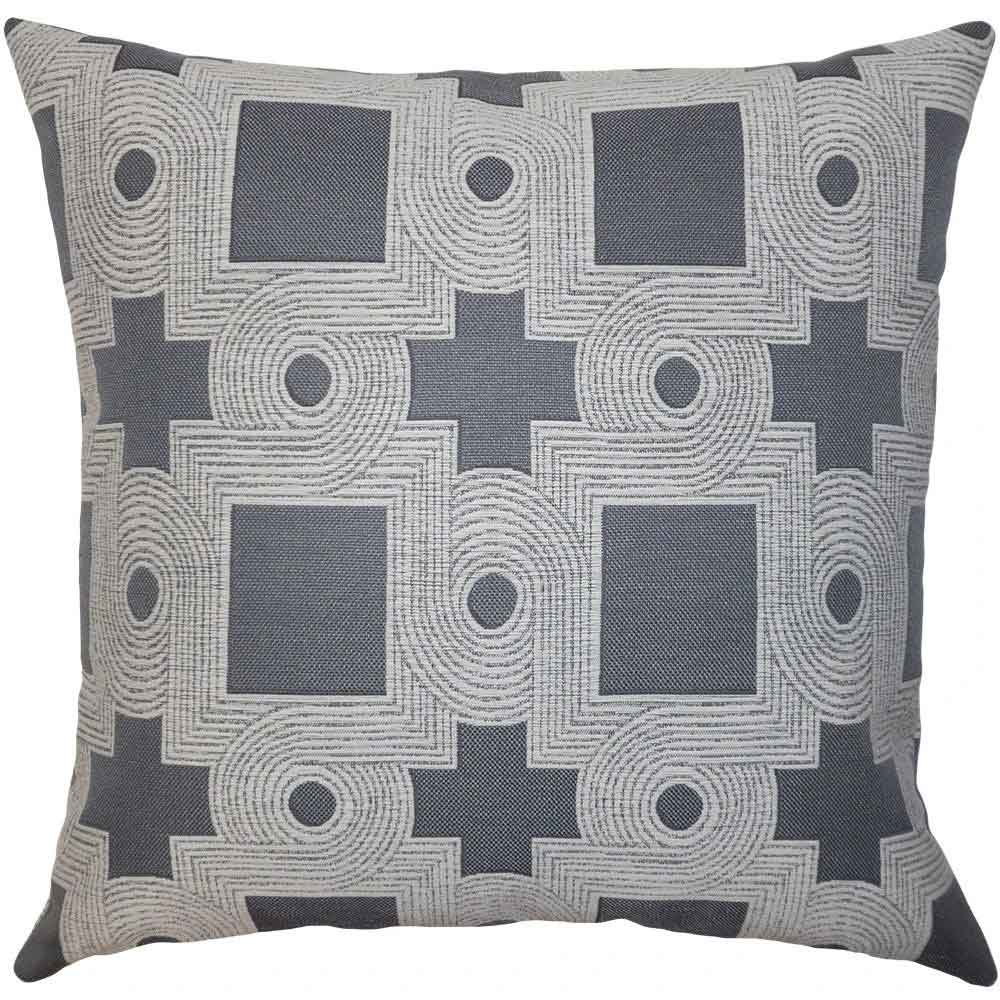 Berlin Geo Pillow Square Feathers