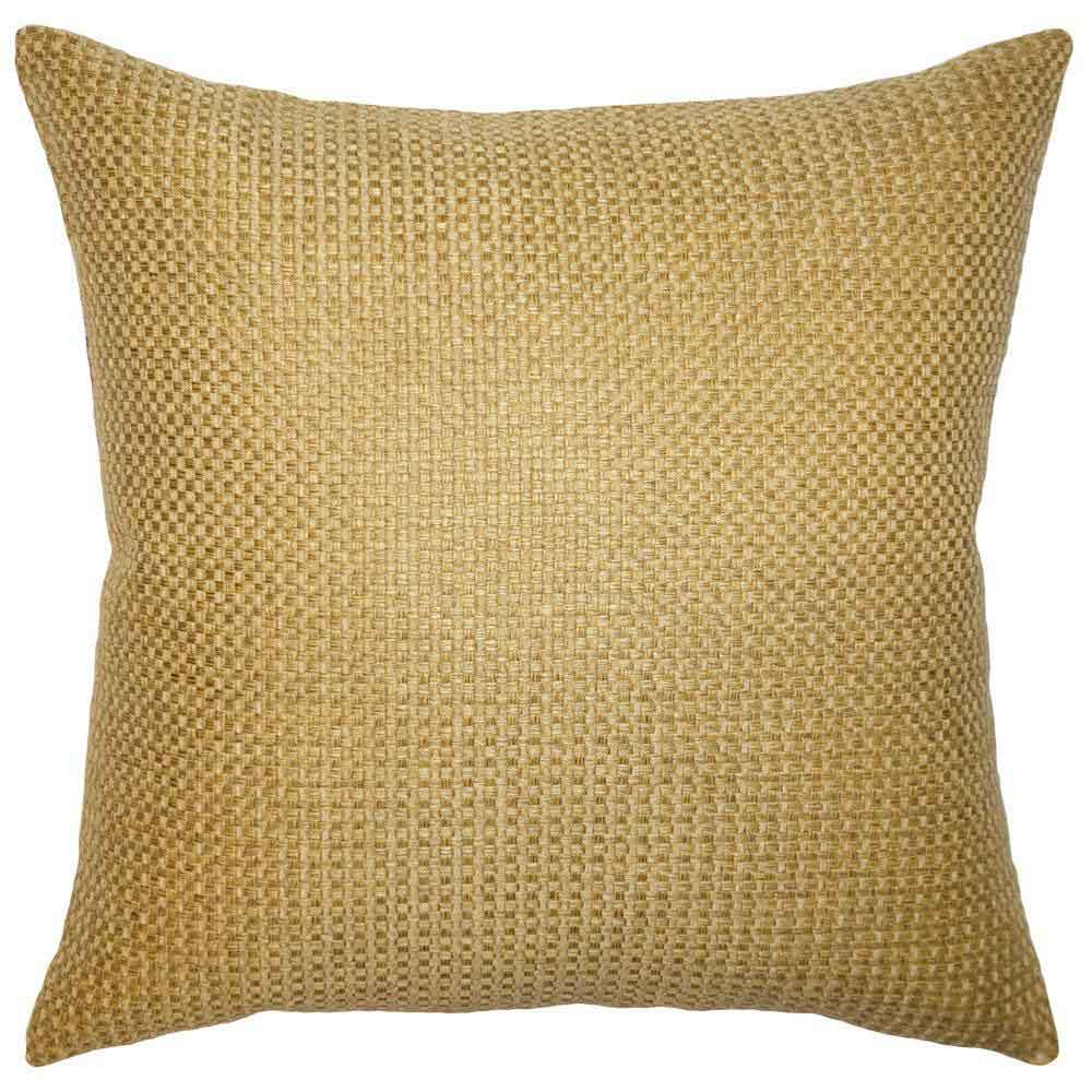 Caravan Gold Pillow Square Feathers