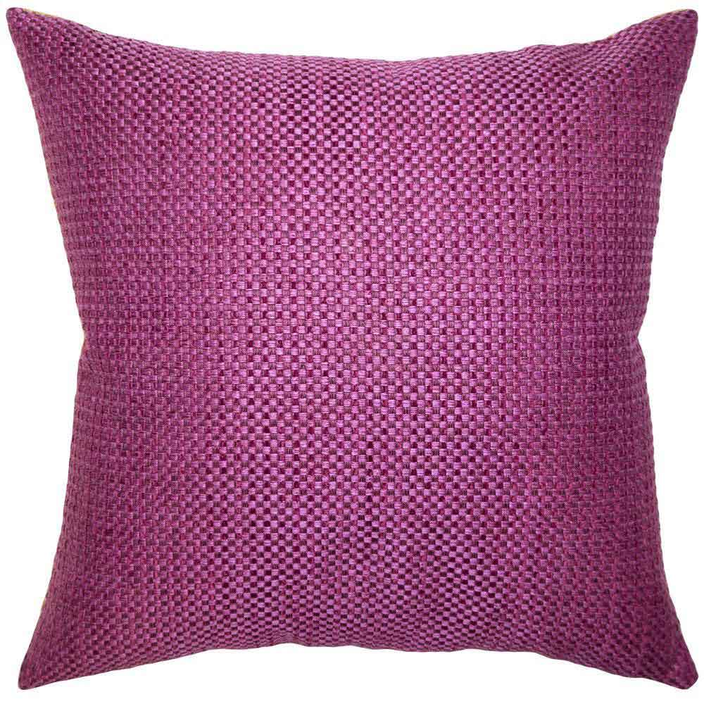 Caravan Magenta Pillow Square Feathers