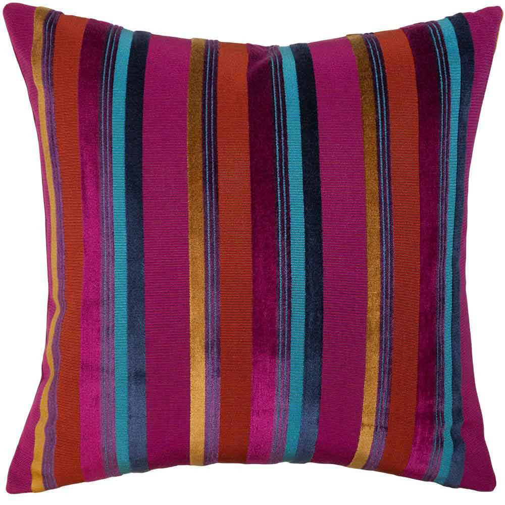 Caravan Stripe Pillow Square Feathers