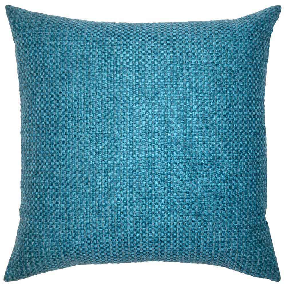 Caravan Teal Pillow Square Feathers