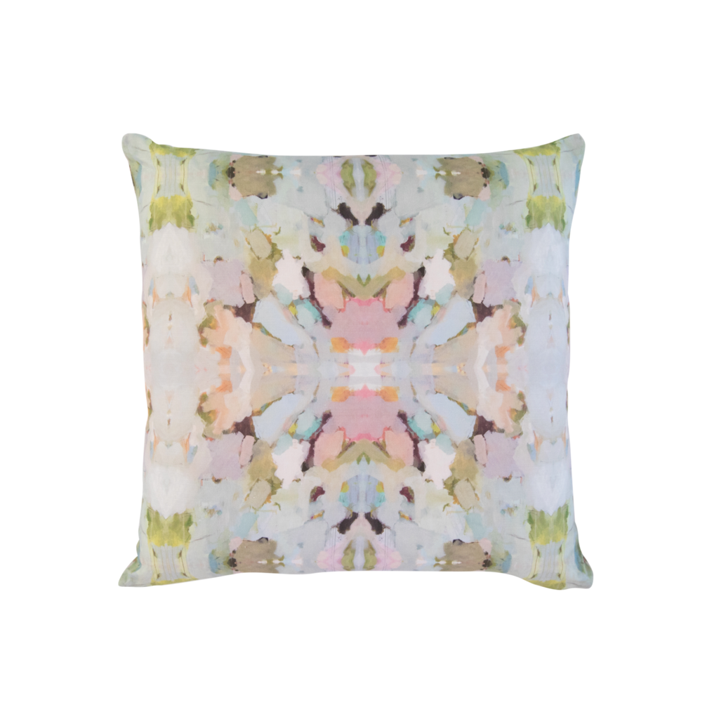 Martini Olives Sunbrella® fabric square pillow from Laura Park Designs