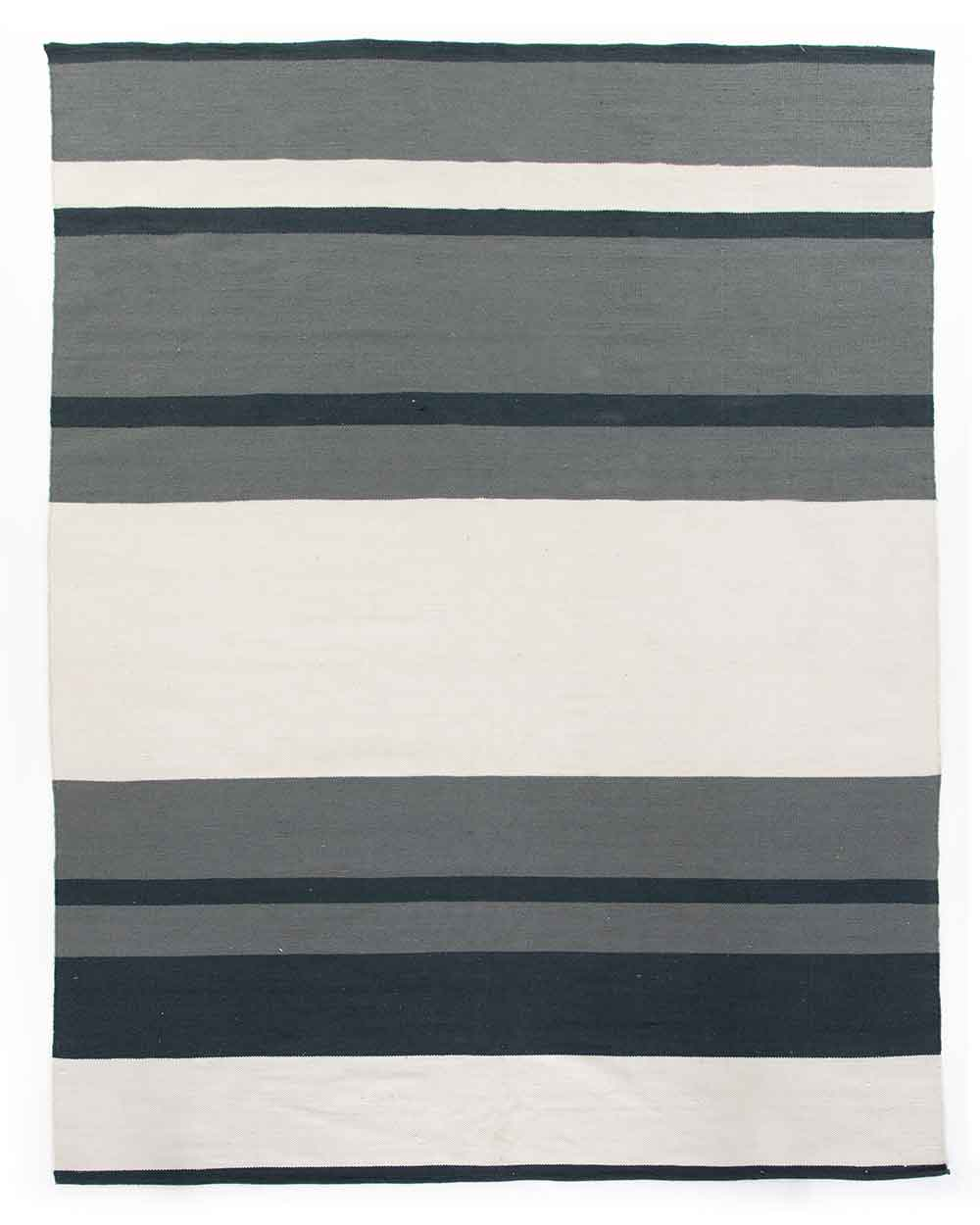 Senna Navy & Cream Outdoor Rug  stripes Four Hands product image