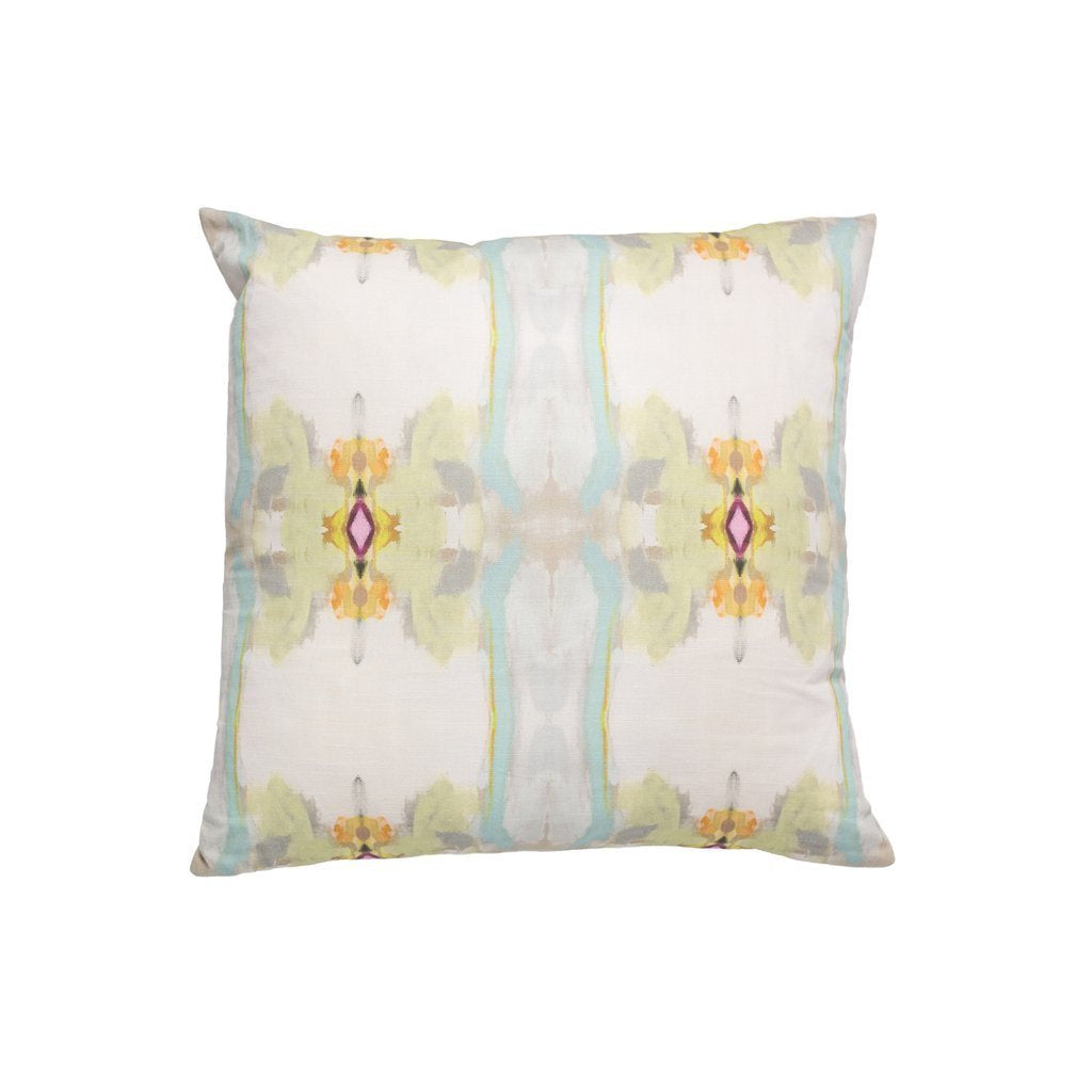 Sundance White Sunbrella® fabric square pillow from Laura Park Designs