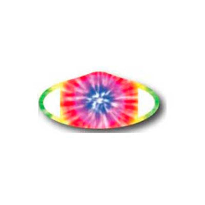 Deco Mask Tie-Dye multi-color face covering stretches for snug fit