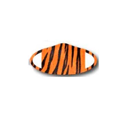 Deco Mask Tiger stripe face covering stretches for snug fit
