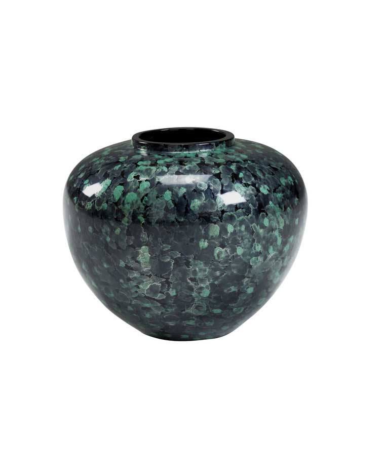 Oval Jar - Green