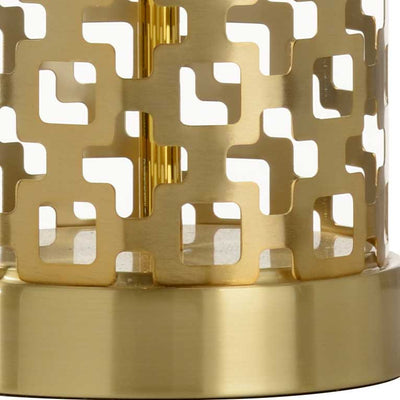 Deena Lamp Geometric Pattern Table Lamp Base Wildwood