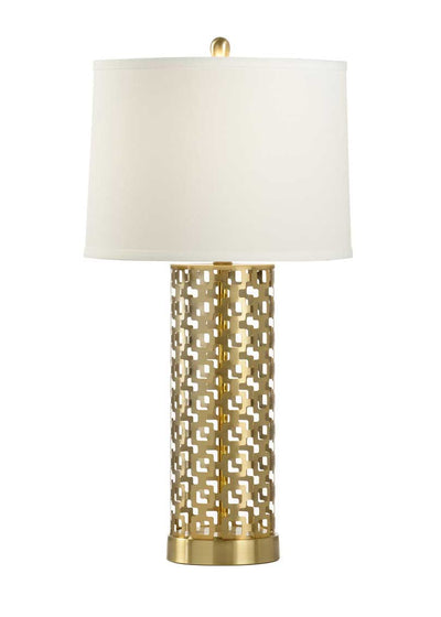 Deena Lamp Geometric Pattern Table Lamp Wildwood