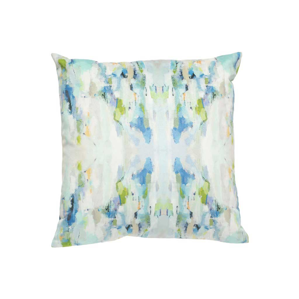 Wintergreen Outdoor Pillow Square Laura Park Designs