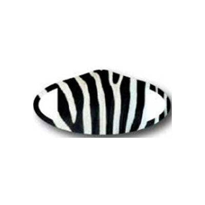 Deco Mask Zebra stripe face covering stretches for snug fit