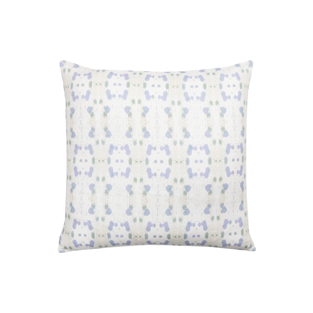 Cheetah Lavender Linen Pillow