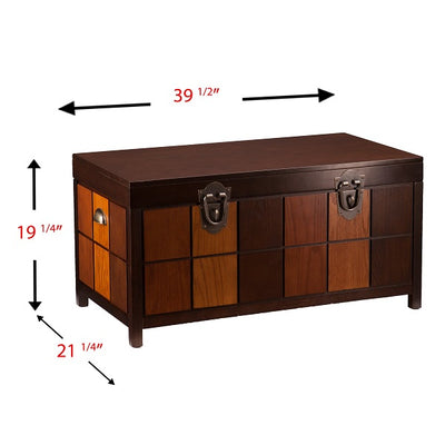 Hendrik Trunk Cocktail Table