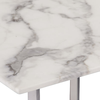 Wrexham Faux Marble Cocktail Table
