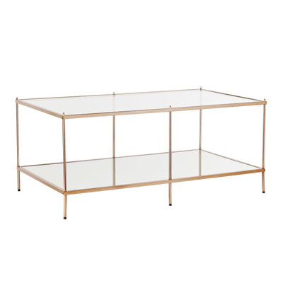 Knox Cocktail Table - Warm Gold