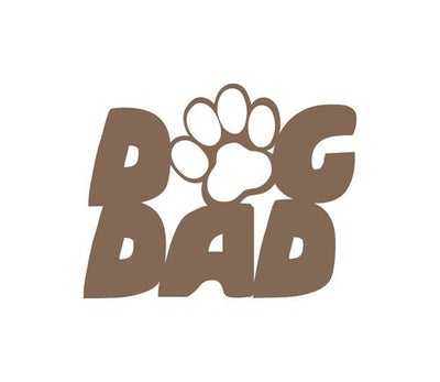 Dog Dad Metal Sign