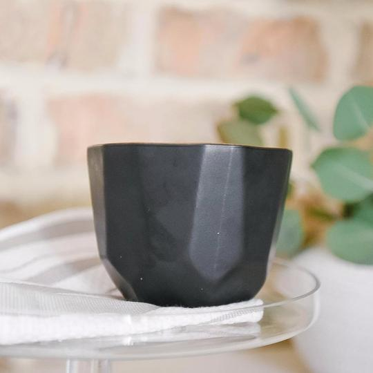 Steel City collection black matte candle from Crave Candles Company