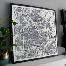 Amsterdam Street Carving Map