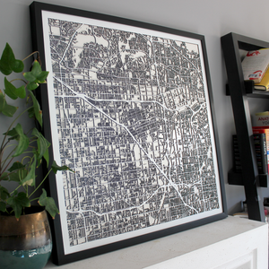 Anaheim Street Carving Map (Sold Out)
