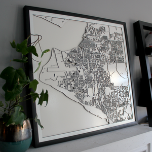 Anchorage Carving Map (Sold Out)