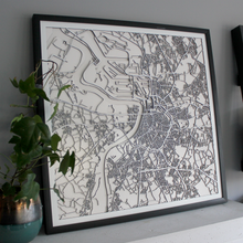 Antwerp Street Carving Map (Sold Out)