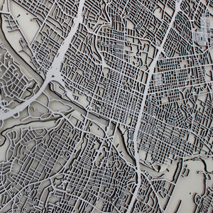 Austin Street Carving Map