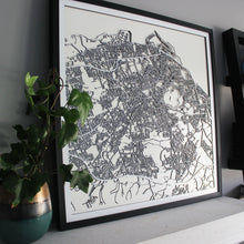 Edinburgh Street Carving Map (Sold Out)