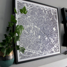 Paris Street Carving Map (Sold Out)