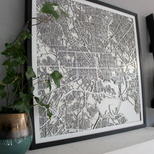 Baltimore Street Carving Map (Sold Out)